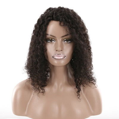 Brazilian Exotic Loose Curl U Part Lace Wig - Exotic Hair Shop
