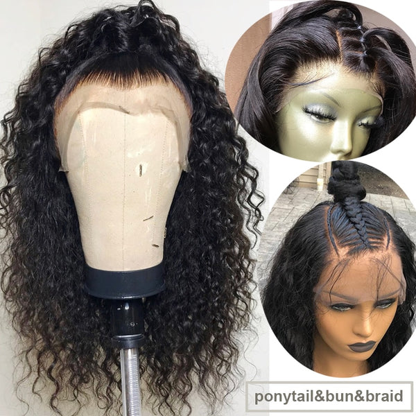 Brazilian Exotic Wave 360 Lace Frontal Wig with Pre-Plucked Hairline and Baby Hair - Exotic Hair Shop