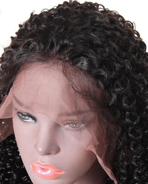 Brazilian Curly 13x4 Lace Frontal Wig - Exotic Hair Shop