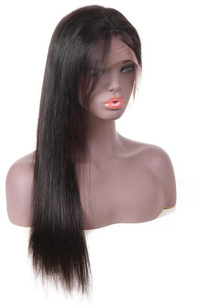 Brazilian Straight Lace Front Wig - Exotic Hair Shop