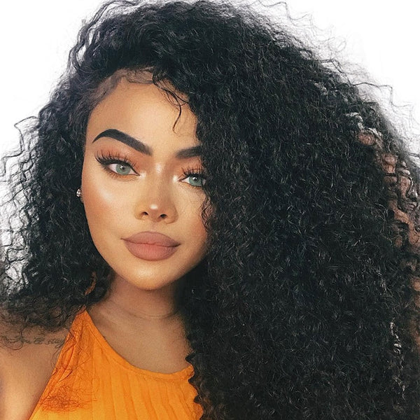 Brazilian Curly Glueless 13x6 Lace Front Wig - Exotic Hair Shop