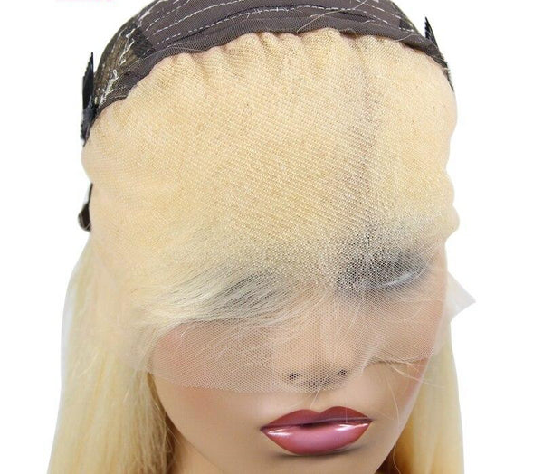 Swiss Lace Brazilian Straight Lace Front Wig in #613 - Exotic Hair Shop