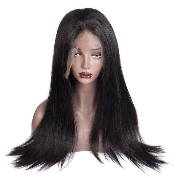 Brazilian Straight Scalp Illusion Full Lace Wig - Exotic Hair Shop