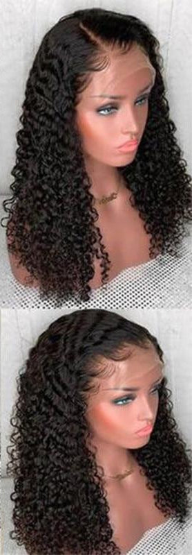 Swiss Lace Brazilian Exotic Curly Lace Front Wig - Exotic Hair Shop