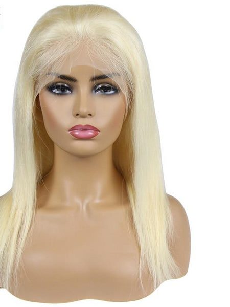 Peruvian Blonde Scalp Illusion Full Lace Wig - Exotic Hair Shop