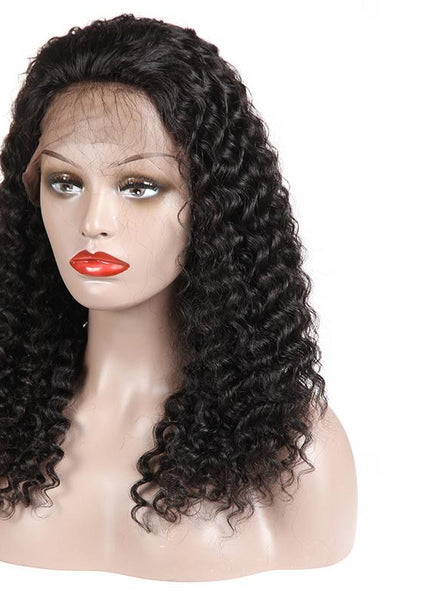Swiss Lace Brazilian Exotic Wave Lace Front Wig - Exotic Hair Shop
