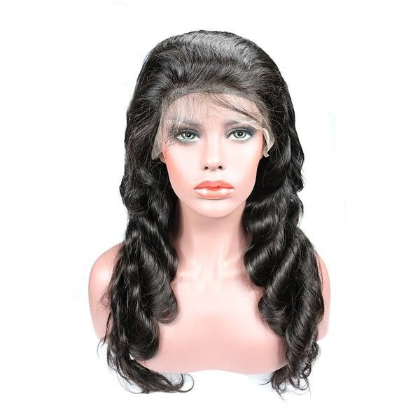 Brazilian Body Wave Scalp Illusion Full Lace Wig - Exotic Hair Shop