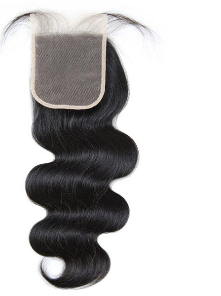 Swiss Lace Closure Brazilian Body Wave 4x4 Closure - Exotic Hair Shop