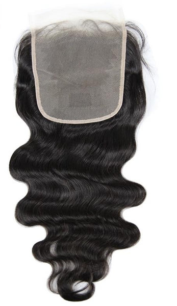 Swiss Lace Closure Brazilian Body Wave 6x6 Closure - Exotic Hair Shop