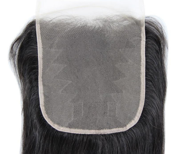 Swiss Lace Closure Brazilian Straight 7x7 Closure - Exotic Hair Shop