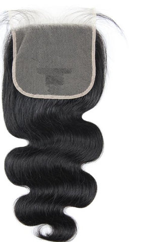 Swiss Lace Closure Peruvian Body Wave 5x5 Closure - Exotic Hair Shop