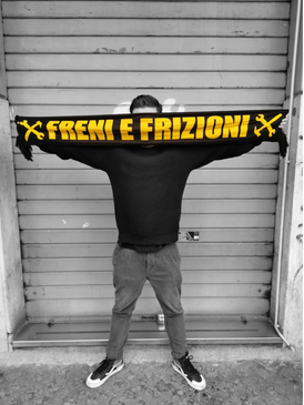 F&F/Fisheye Scarf - FRENI E FRIZIONI - ENTER THE GAME