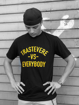 F&F/Fisheye T-Shirt - Trastvere VS. Everybody