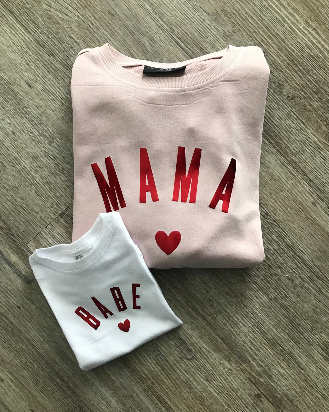 Mama and Babe Valentine's Day set