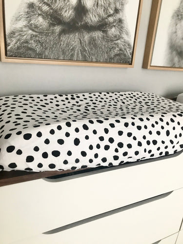 Organic changing pad cover |spots