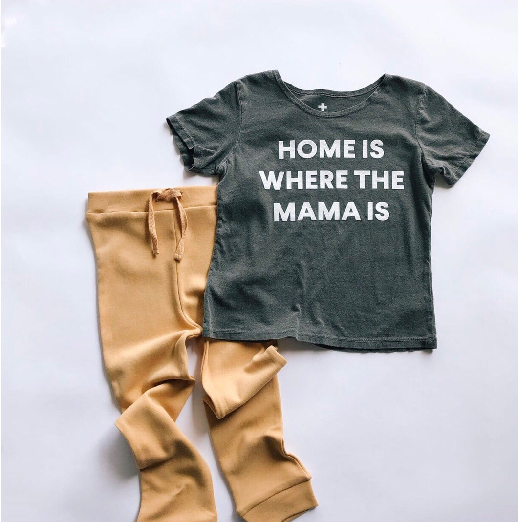 Scoop Neck Tee | Home Is Where the Mama Is