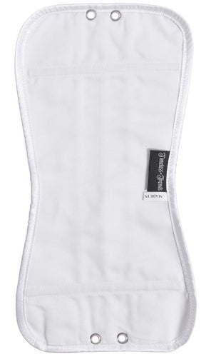 White Corset Modesty Panel
