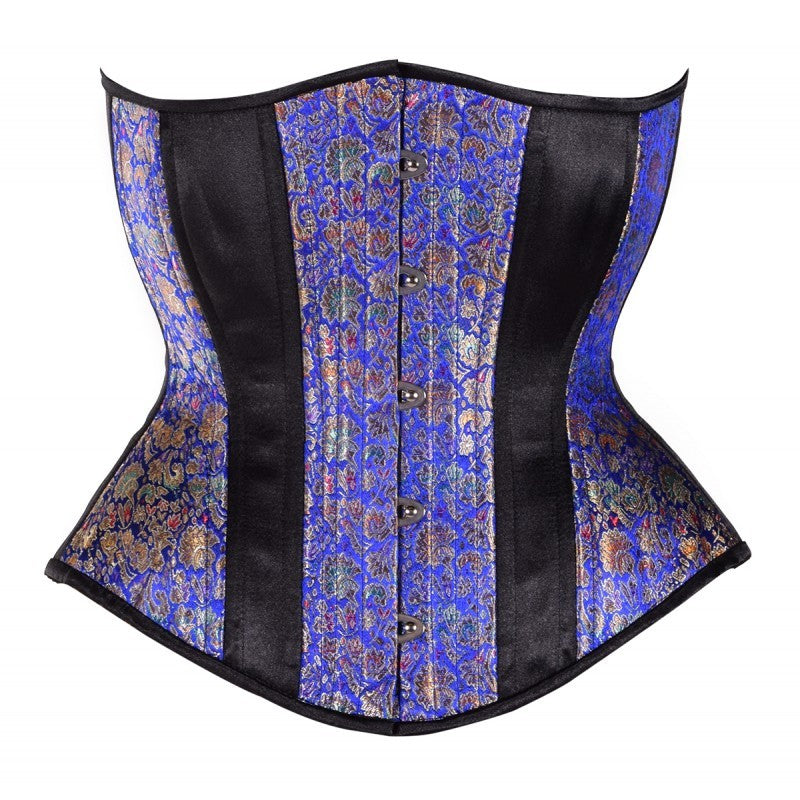 Royal Blue Hourglass Corset