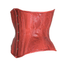 Load image into Gallery viewer, Red Dragon Underbust Corset, CUSTOM ORDER