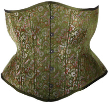 Load image into Gallery viewer, Green Renaissance Corset