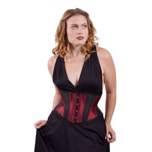 Burgundy Hourglass Cincher