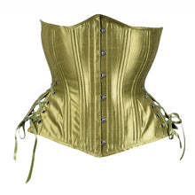 Load image into Gallery viewer, Green Corset