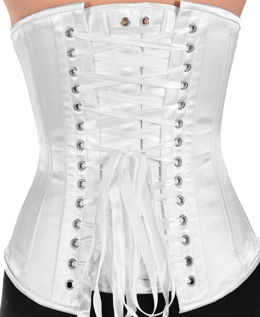 Modesty panel for stays and corsets