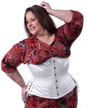Load image into Gallery viewer, Bridal Long Plus Sized Corset