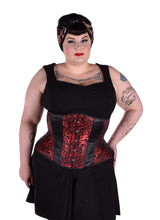 Load image into Gallery viewer, Black Dragon Corset