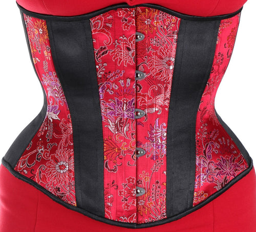 Red Floral Corset Lite