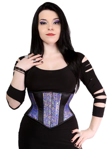 Royal Blue Hourglass Cincher