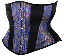 Load image into Gallery viewer, Royal Blue Underbust Corset