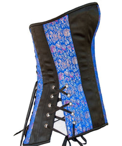 Royal Blue Overbust Corset