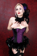 Load image into Gallery viewer, Purple Corset Top