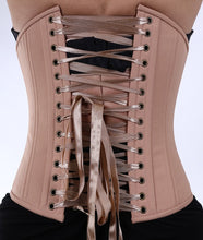 Load image into Gallery viewer, Nude Caramel Skin Tone Corset