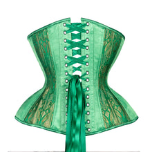 Load image into Gallery viewer, Emerald Cupped Corset, Gemini Silhouette, Regular