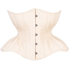 Load image into Gallery viewer, Beige Cotton Cupped Corset, Gemini Silhouette, Regular