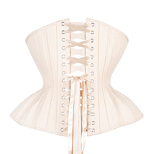 Load image into Gallery viewer, Beige Cotton Straight Corset, Gemini Silhouette, Regular