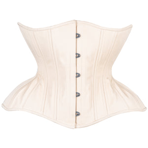 Beige Cotton Straight Corset, Gemini Silhouette, Regular