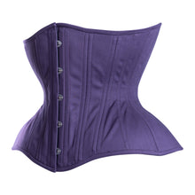Load image into Gallery viewer, True Purple Straight Corset, Gemini Silhouette, Regular