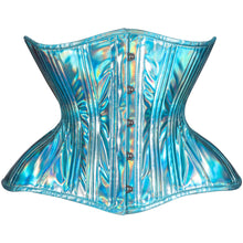 Load image into Gallery viewer, Blue Skies Straight Corset, Gemini Silhouette, Regular