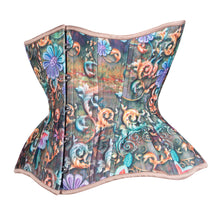 Load image into Gallery viewer, Fantasy Flowers Straight Corset, Gemini Silhouette, Regular