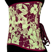 Load image into Gallery viewer, Hawaii Bound Underbust Corset, Multi Silhouette