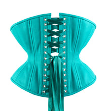 Load image into Gallery viewer, Lagoon Green Corset, Libra Silhouette, Regular