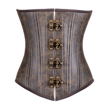 Load image into Gallery viewer, Rustic Cowboy Corset, Men's Silhouette, Regular