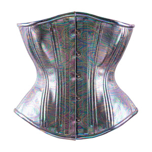 Rainbow Prism Novice Corset, Hourglass Silhouette, Regular