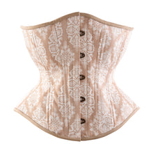 Load image into Gallery viewer, Spring Snowflakes Novice Corset, Hourglass Silhouette, Regular