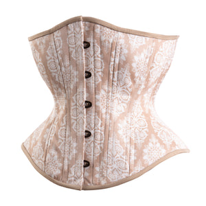 Spring Snowflakes Novice Corset, Hourglass Silhouette, Regular