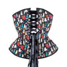 Load image into Gallery viewer, Cats with Sass Novice Corset, Hourglass Silhouette, Regular