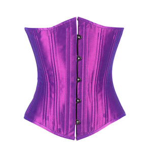 Iridescent Purple Corset, Slim Silhouette, Regular**